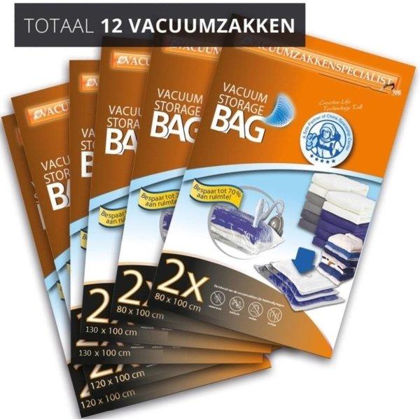 Pro Pakket Vacuumzakken Home Large [Set 12 Vacuumzakken]