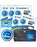 Vacuumbag.com Vacuumzakken voor Tuinkussens Pakket met opbergtas [Set 10 zakken+tas]