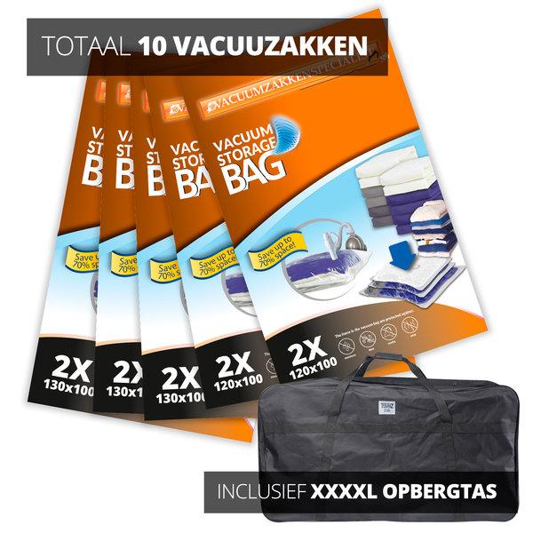 Pro Pakket Vacuumzakken voor tuinkussen + opbergtas [Set 10 Vacuumzakkenopbergtas]