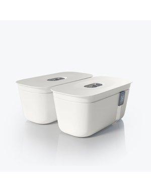 Vacuvita Vacuum Container Small Wit [set 2 stuks]