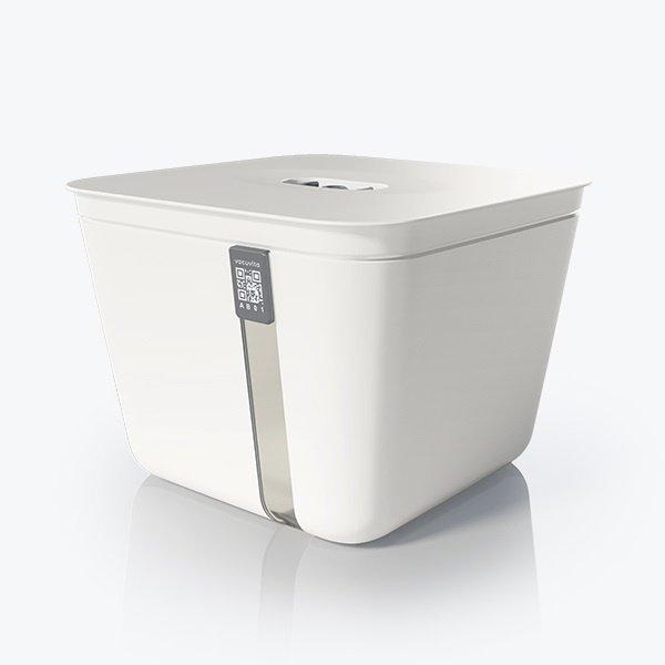 Vacuvita Vacuum Voedsel Container Large Wit