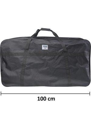 XXXXl Kledingtas 100cm Zwart 235 Liter [103X57X41cm]