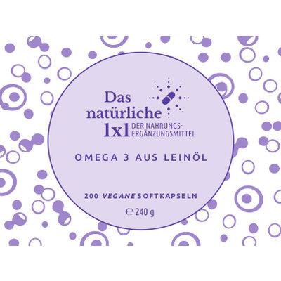 Omega-3 Nachfüllpack (200)