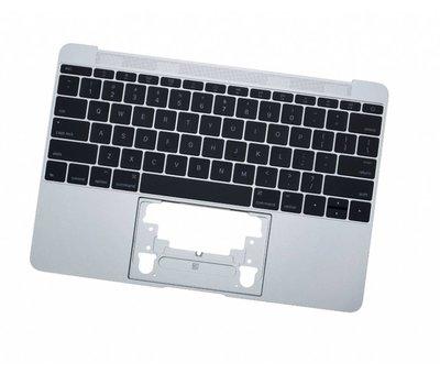 MacBook 12 inch A1534 topcase (2015) - silver - zilver