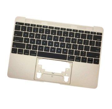 MacBook 12 inch A1534 topcase (2015) - gold - goud