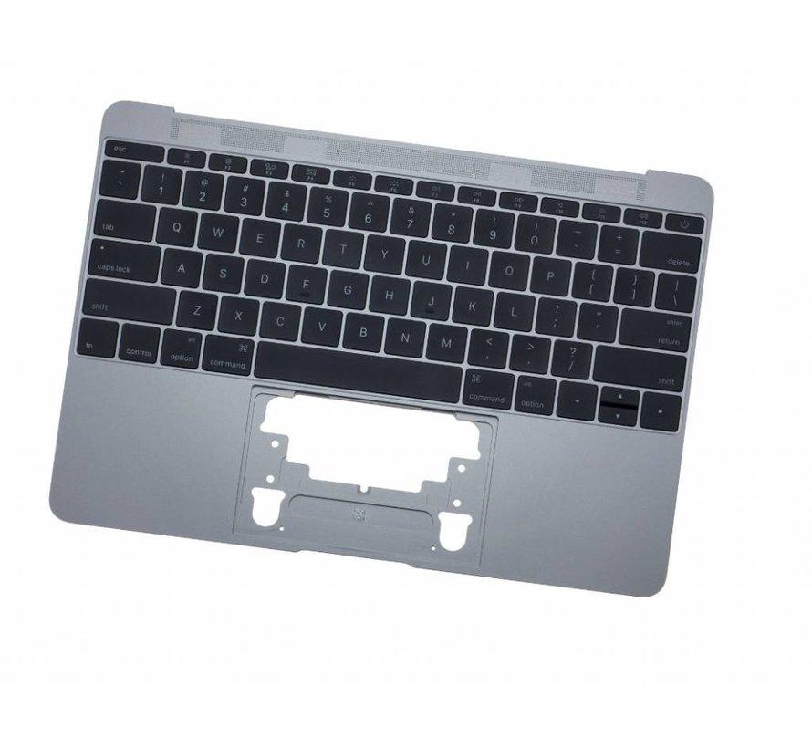 MacBook 12 inch A1534 topcase (2015) - UK/NL - space grey