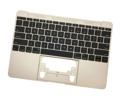 MacBook 12 inch A1534 topcase (2016) - UK/NL - gold - goud