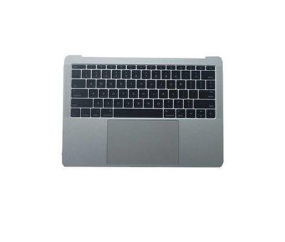 MacBook 13 inch A1708 topcase - silver / zilver