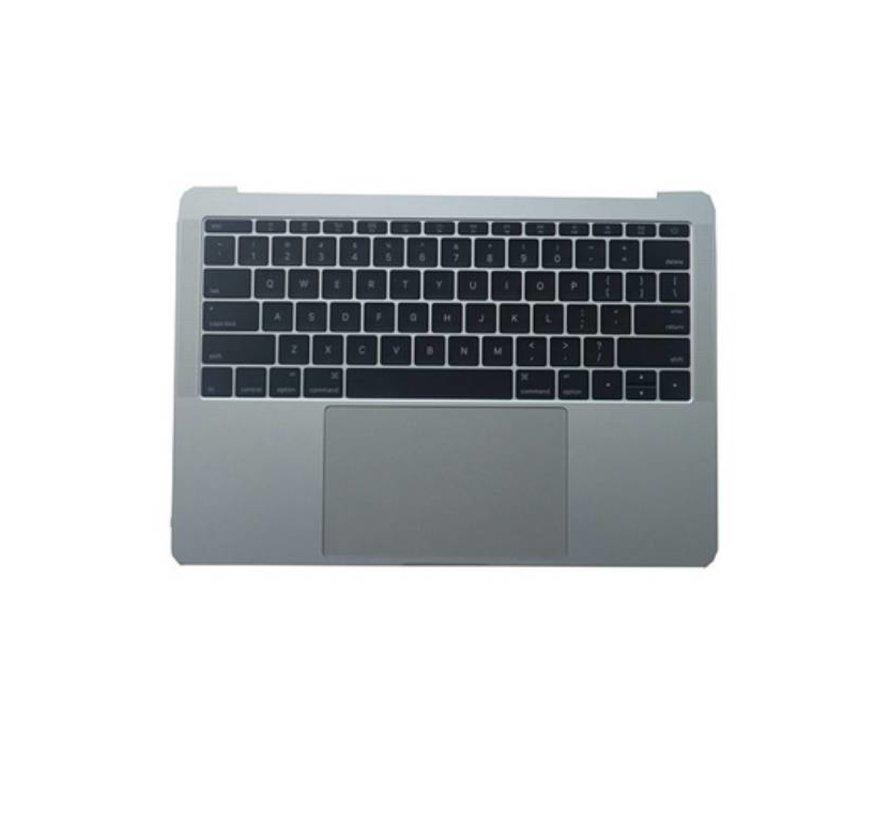 MacBook 13 inch A1708 topcase - UK/NL - silver / zilver