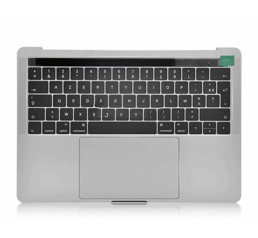 MacBook Pro 13 inch A1706 topcase - silver / zilver
