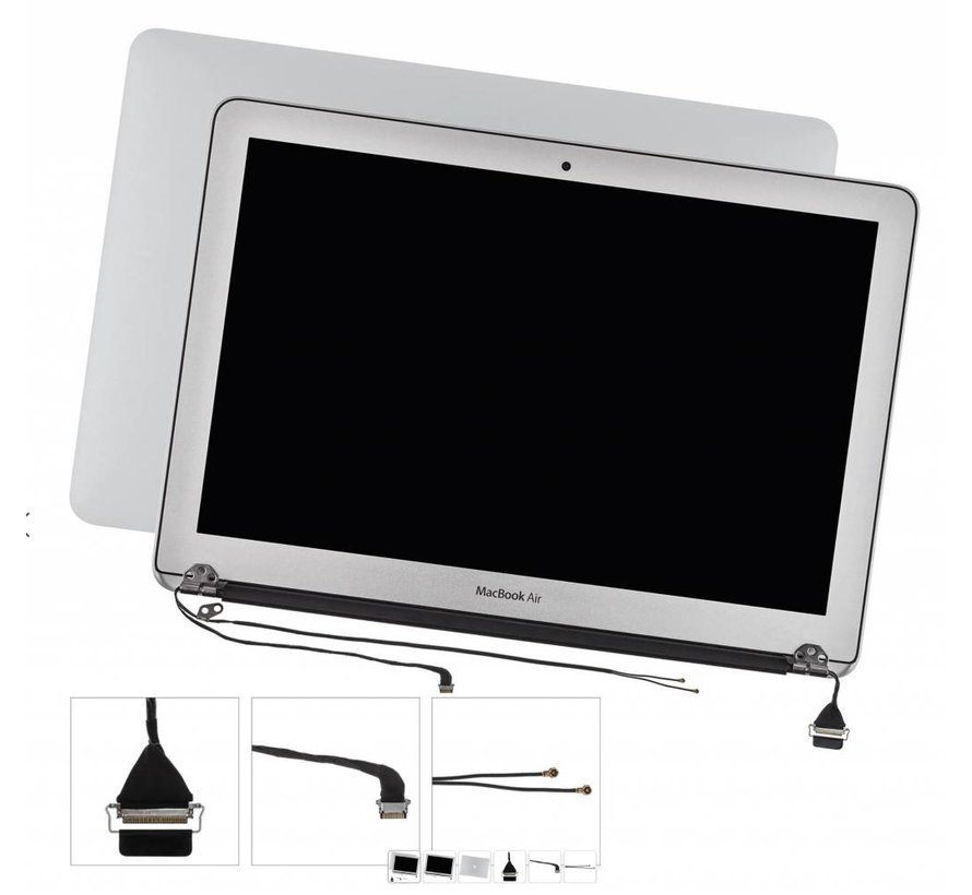 MacBook Air 13 inch A1466 display assembly  (2013 - 2017)