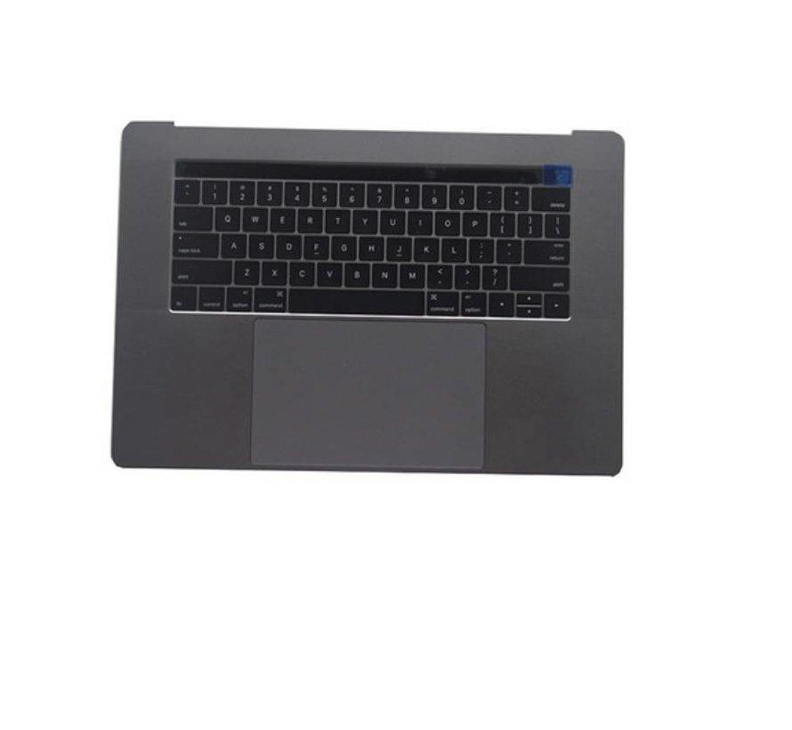 MacBook Pro 15 inch A1990 topcase - UK/NL - space grey