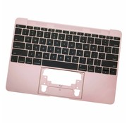 MacBook 12 inch A1534 topcase (2016 - 2017) - Rose Gold
