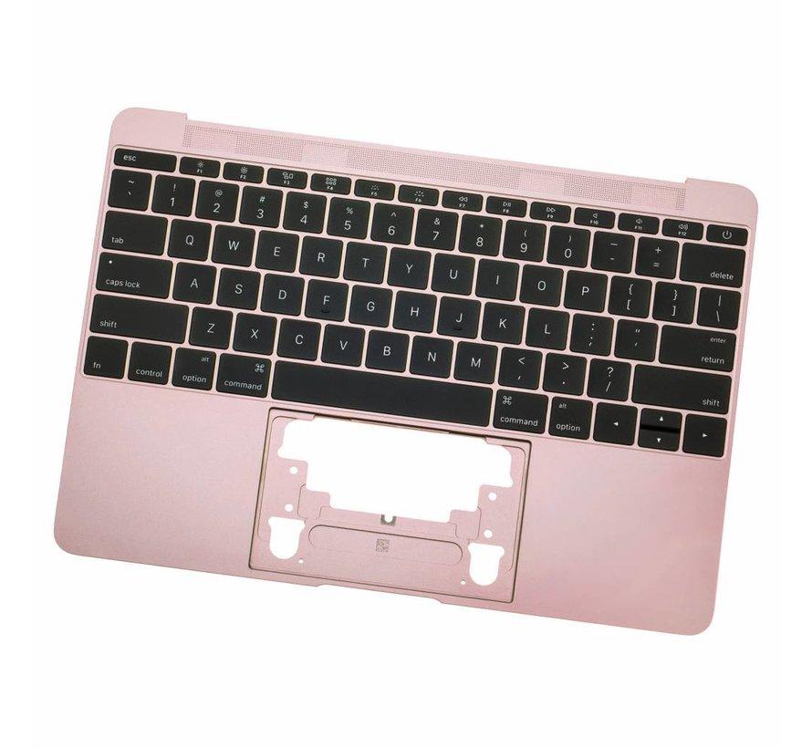 MacBook 12 inch A1534 topcase (2016 - 2017) - Rose Gold