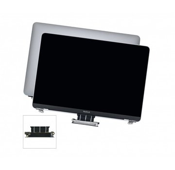 MacBook 12 inch A1534 compleet display / scherm (2015 - 2017) - silver / zilver