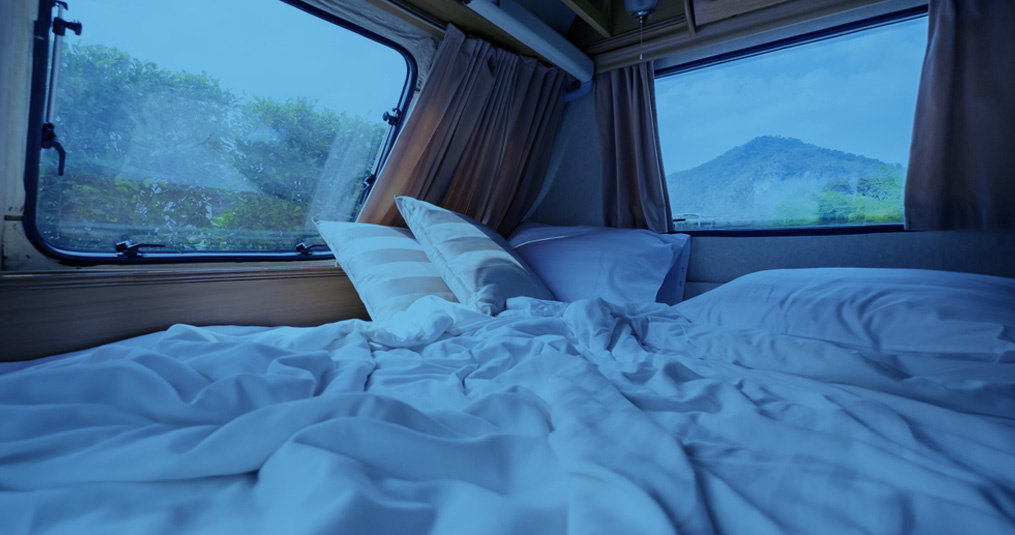 Op de camping met huisstofmijt