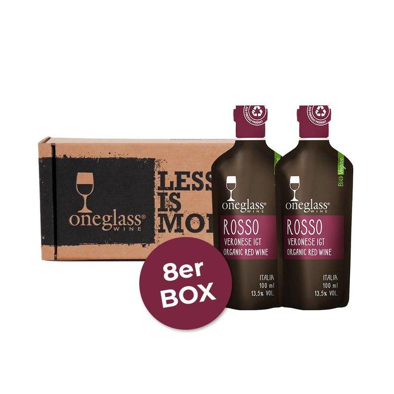 8er ROSSO BIOWEIN BOX