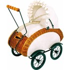Small Foot Rieten poppenwagen Leonor