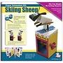 Bekken Design Skiënd schaap (Skiing Sheep)