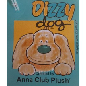 Anna Plush Dizzy Dog