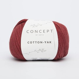 Katia Cotton Yak 105 Rood