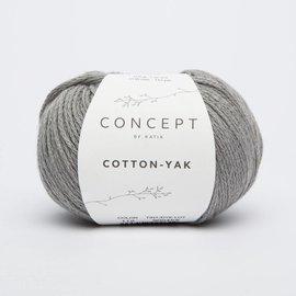 Katia Cotton Yak 112 Lichtgrijs