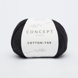 Katia Cotton Yak 114 Zwart