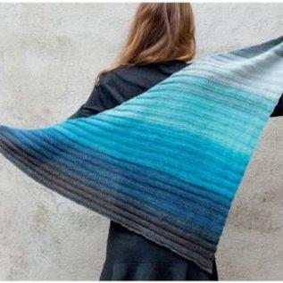 Gratis Breipatroon sjaal in Katia Paint
