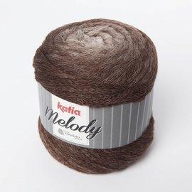 Katia Melody 200  Ecru/Bruin