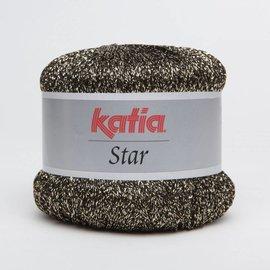 Katia Star 503 Zwart/Goud