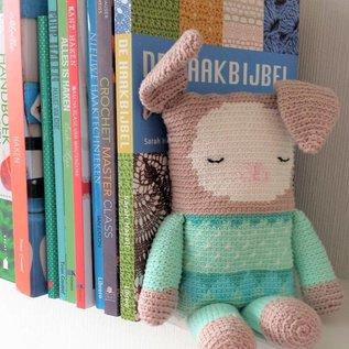 Haakboek Blijhakertjes - Knuffels in Tapestry haken