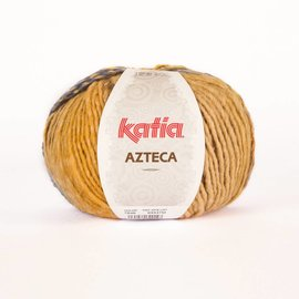 Katia Azteca wol 7848 Oker/ Azuurblauw(x)