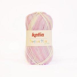 Katia Peques Plus 54 Roos-Groen-Beige