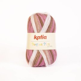 Katia Peques Plus 50 Roos-Wit-Bruin