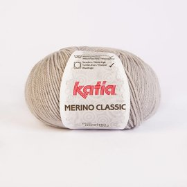 Katia Merino Classic Wol  12 - Lichtgrijs
