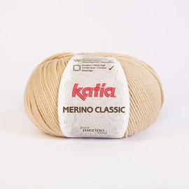 Katia Merino Classic Wol 10 - Lichtbeige