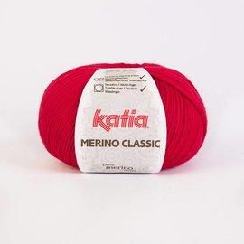 Katia Merino Classic Wol  4 - Rood