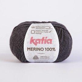 Katia Merino 100% 503 Donkergrijs