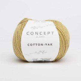 Katia Cotton Yak 118 Mosterdgeel