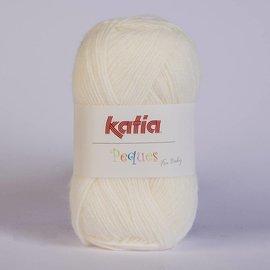 Katia Peques Babywol 84902 Gebroken wit