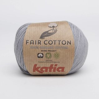 Katia Fair Cotton 26 Medium Grijs - Biore Project