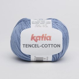 Katia Tencel Cotton 22 Blauw