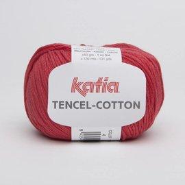 Katia Tencel Cotton 4 Rood