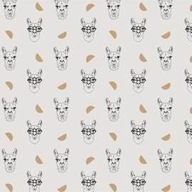 Katia Fabrics Gold Lama Canvas