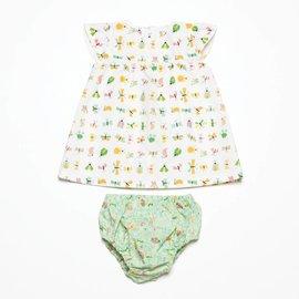 Katia Fabrics Naaipatroon Baby jurk en broekje