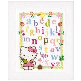 Vervaco Het alfabet met Hello Kitty, telpakket
