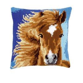 Vervaco Kruisjessteekkussen Bruin Paard