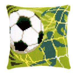 Vervaco Kussen met een voetbal