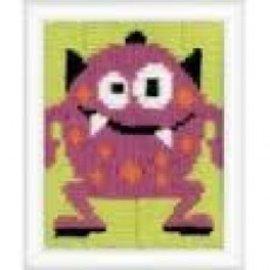 Vervaco Roos Monstertje III, spansteek borduurpakket