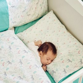Katia Fabrics Naaipatroon  lakenset voor babybed